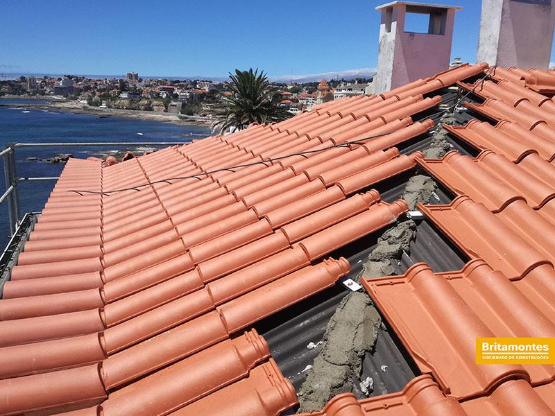 Reabilitação de telhado