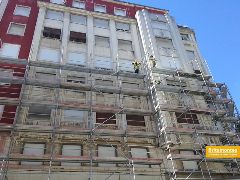 Britamontes | Reabilitação de fachadas em Lisboa