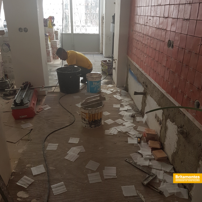 Remodelação de um restaurante em Lisboa.
