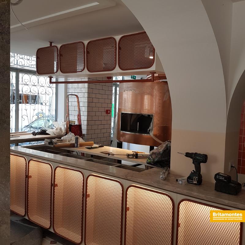 Remodelação de um restaurante em Lisboa