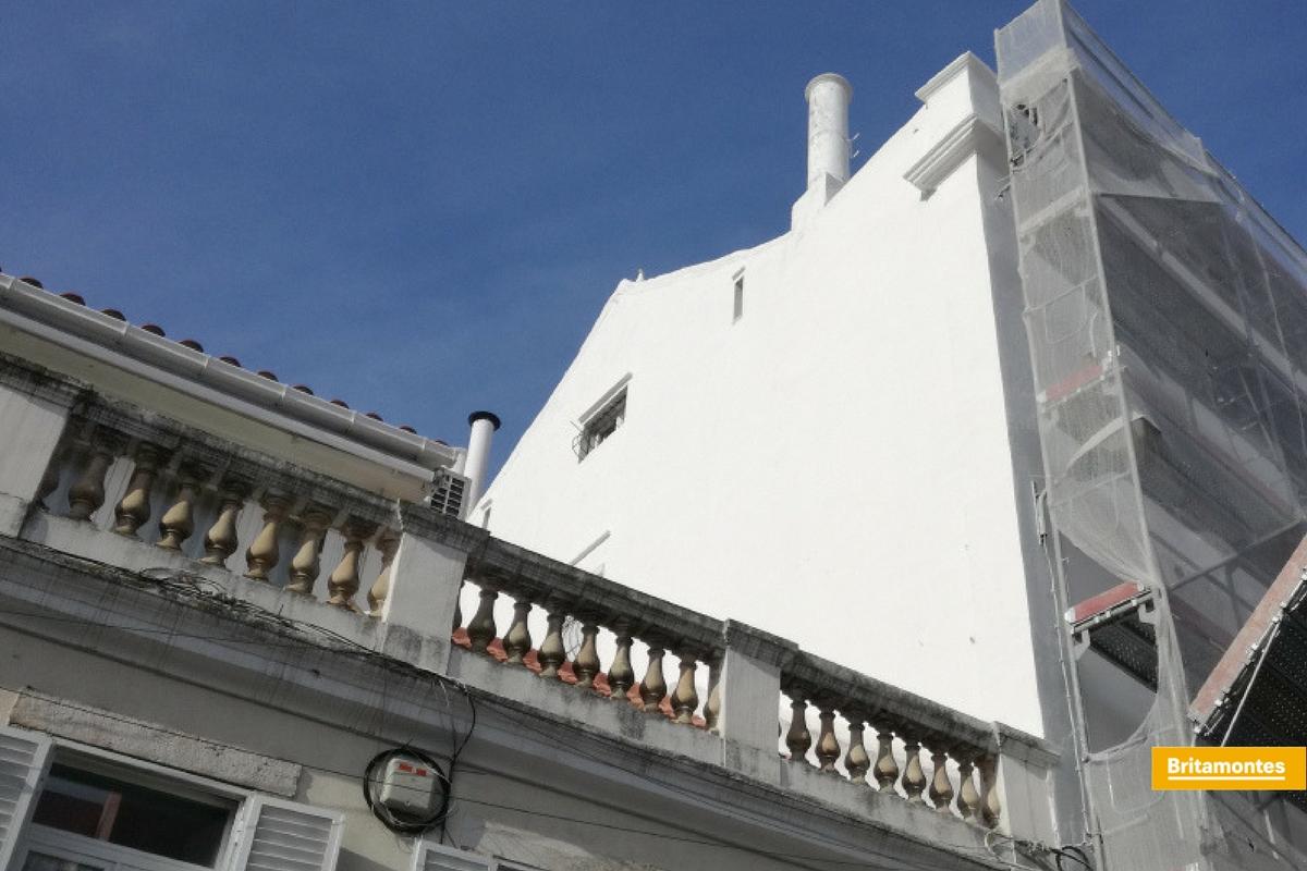 Reabilitação da fachada