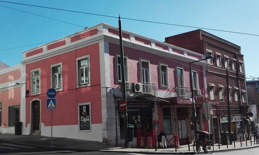 Recuperação da fachada