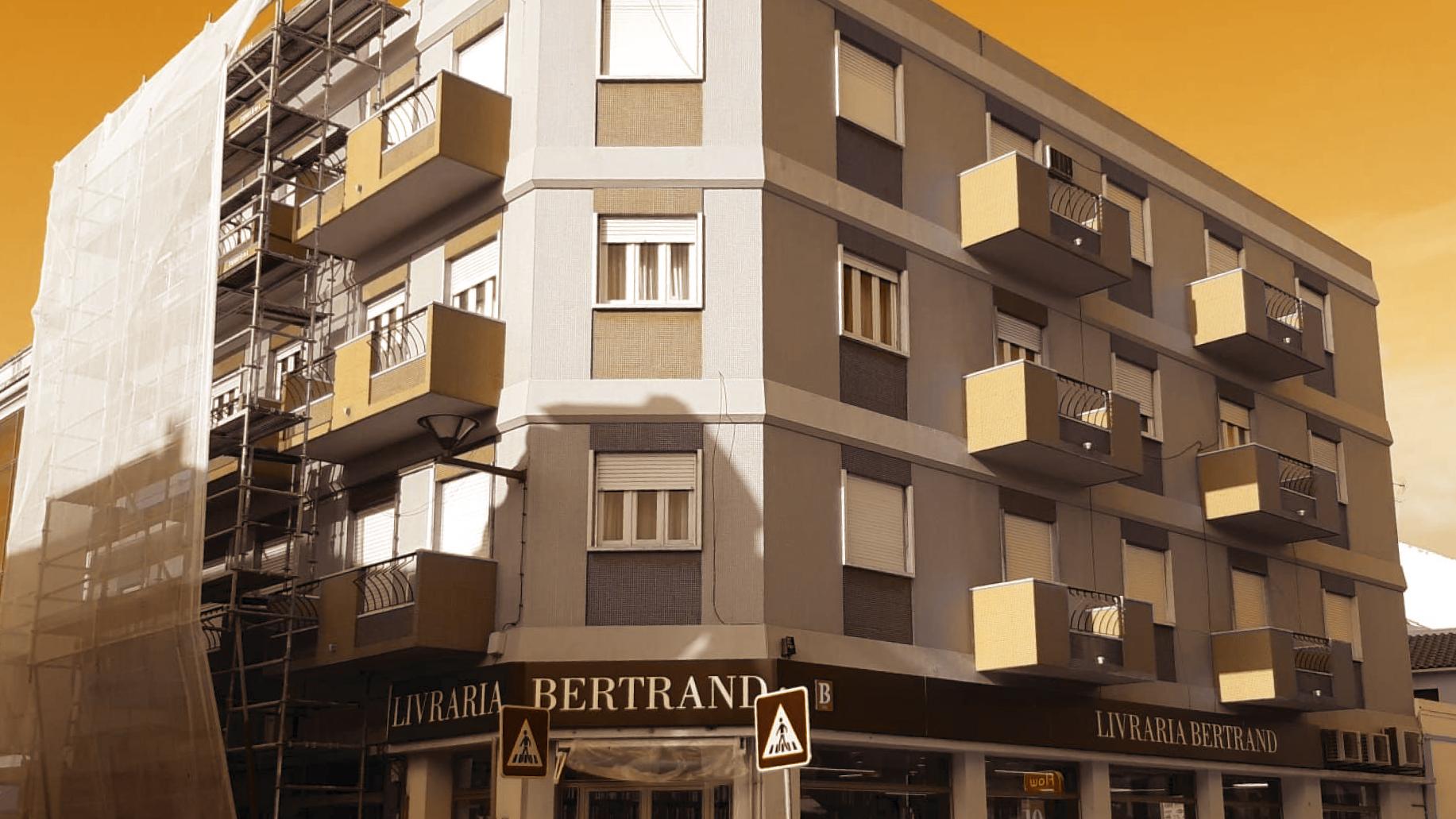 Recuperação de fachadas de prédios